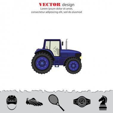 Tractor Color image