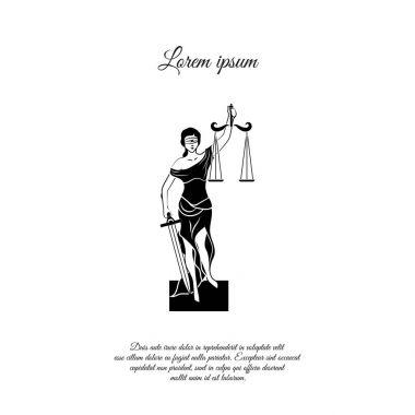 Themis flat icon