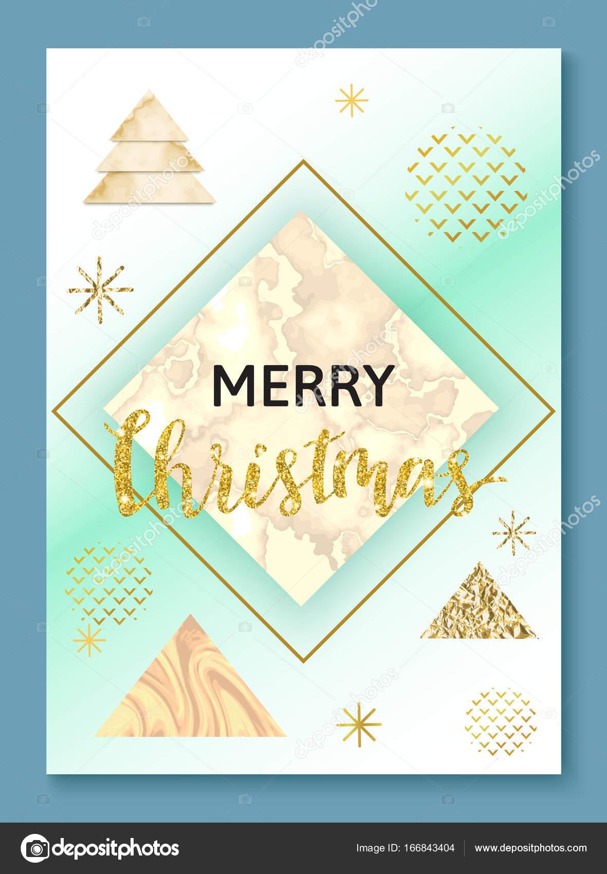 Cartel de Navidad o del fondo, plantilla de invitación de fiesta con ...