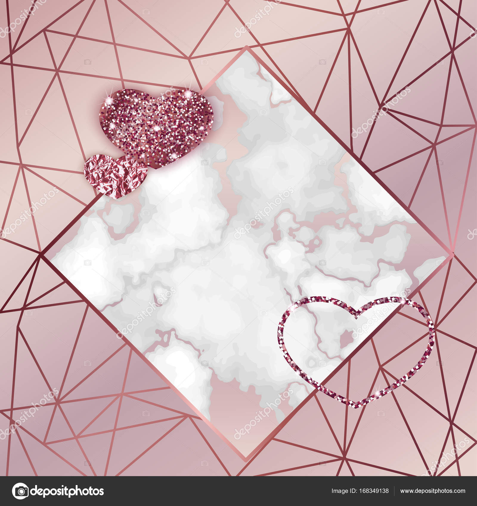 Wonderful Wallpaper Marble Heart - depositphotos_168349138-stock-illustration-geometric-valentine-day-card-marble  Pic_633583.jpg
