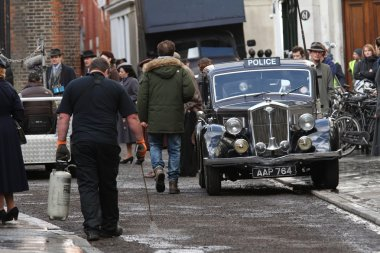 General view on set for Imitation Game
