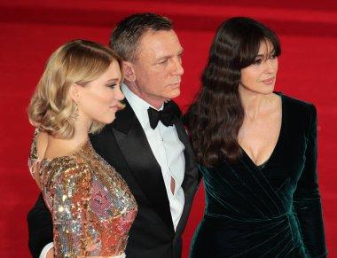Daniel Craig, Monica Bellucci, Lea Seydoux