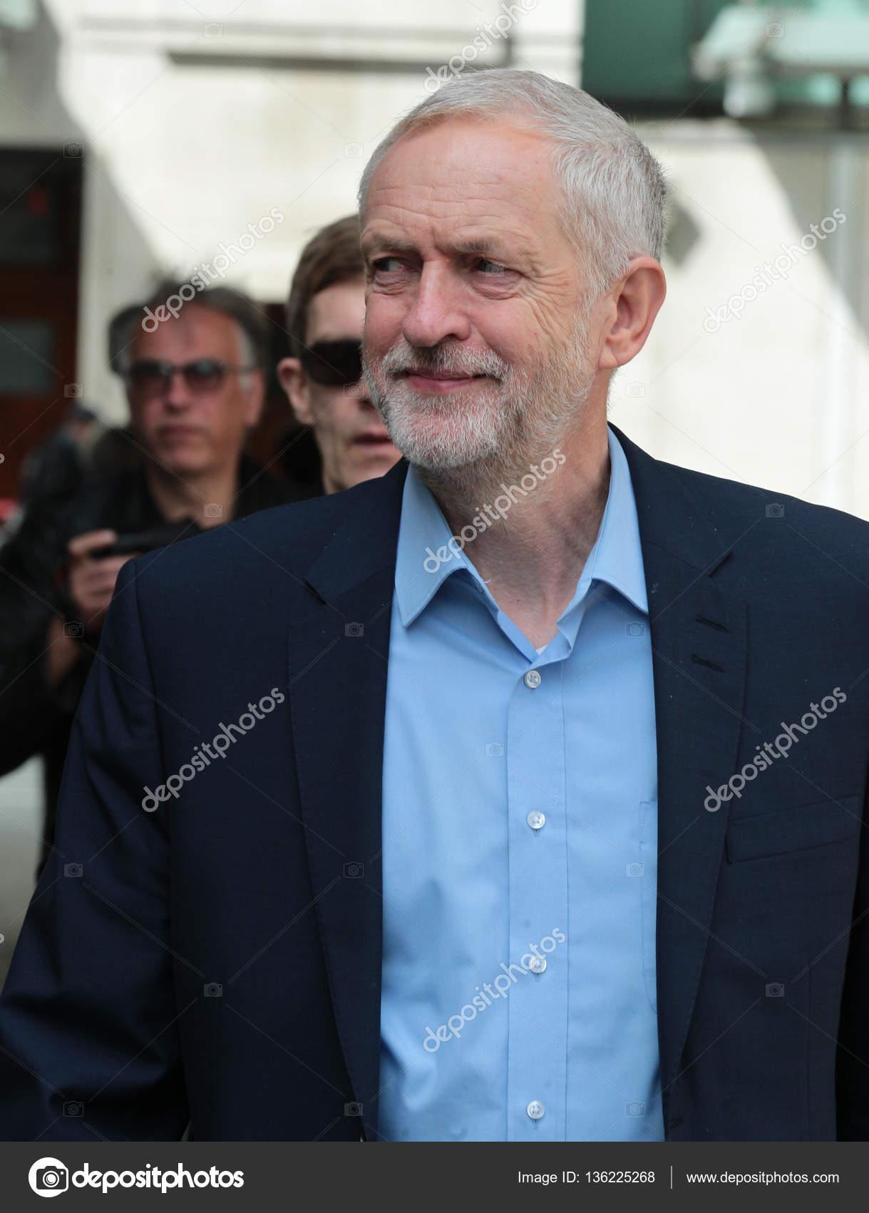 政治家ジェレミー ・ コービン — ストック写真