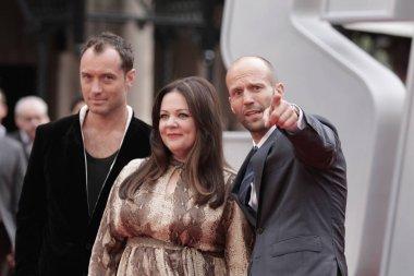 Jude Law, Melissa Mccarthy, Jason Statham