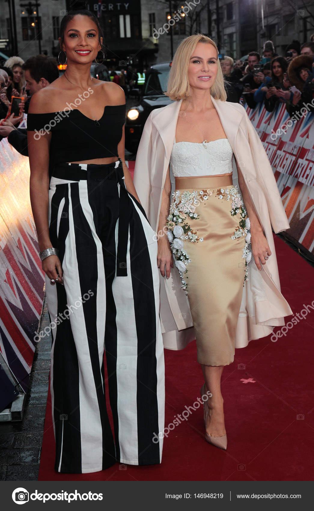 Alesha Dixon and Amanda Holden – Stock Editorial Photo © Twocoms ...