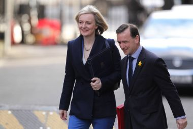 Liz Truss and Alun Cairns