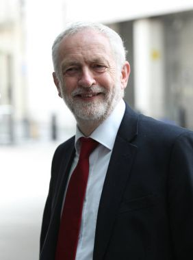 Politician Jeremy Corbyn