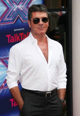 English reality television judge Simon Cowell