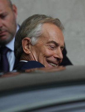 Politician Tony Blair