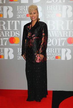Emeli Sande attends The BRIT Awards