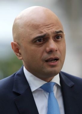 politician  Sajid Javid
