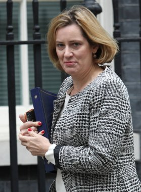 British Conservative politician Amber Rudd