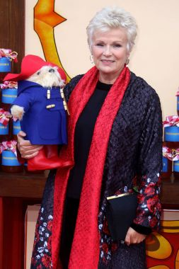 LONDON, UK - NOV 05, 2017: Dame Julie Walters attends the Paddington 2 film premiere in London
