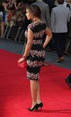 Londýn, Velká Británie, 20. srpna 2013. Rochelle Humové navštěvuje světová premiéra  jeden směr: Toto je nám na náměstí Leicester říše