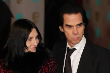 LONDON - FEB 8, 2015: Nick Cave attends the EE British Academy Film Awards at The Royal Opera House  in London