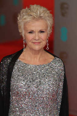 LONDON, UK - FEB 8, 2015: Julie Walters attends the EE British Academy Film Awards at The Royal Opera House  in London