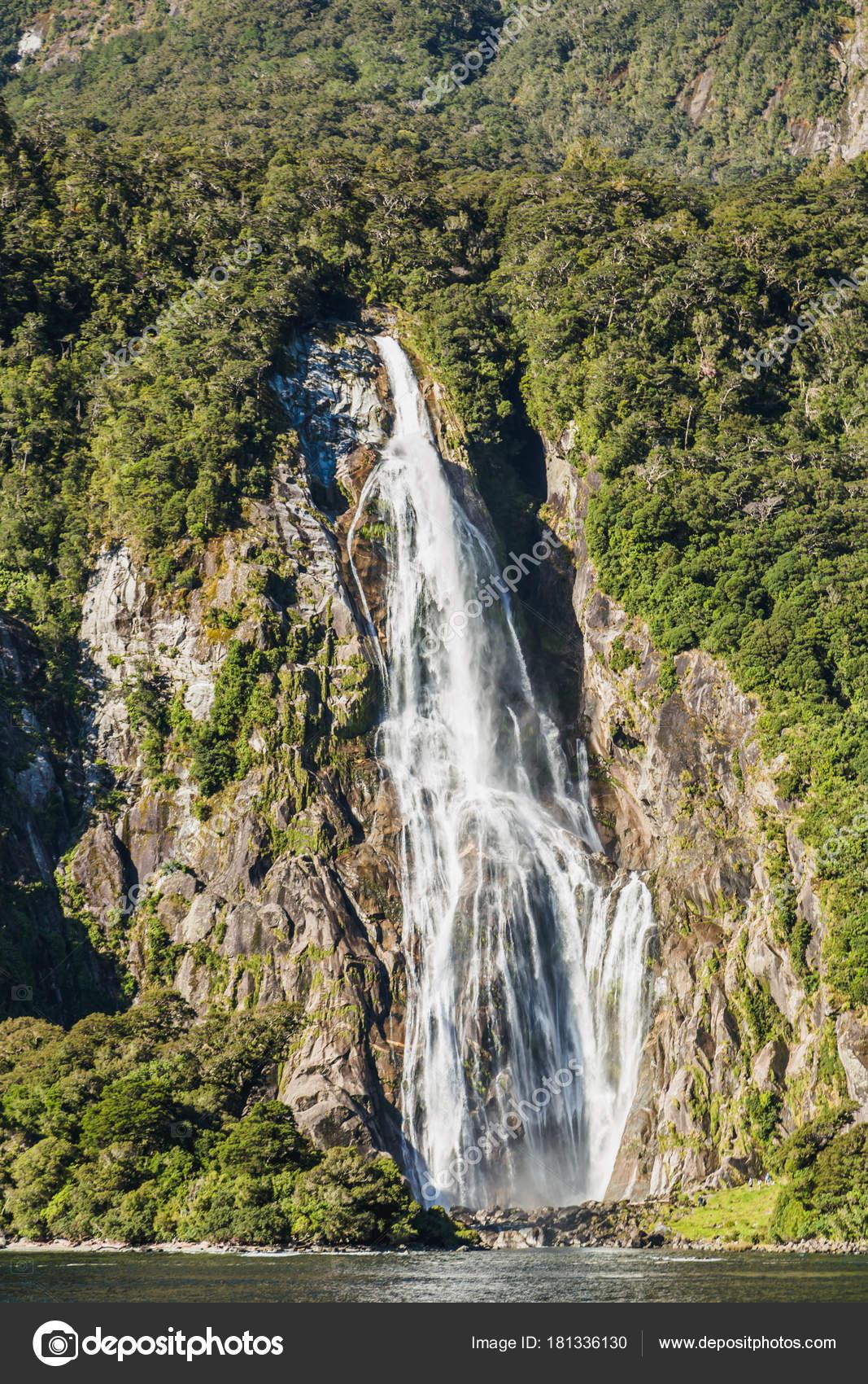 Bowen Falls Milford Sound Fiordland National Park South