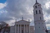 Katedrální bazilika St. Stanislaus a St. Vladislav s Evropou zvonice Vilnius, Litva