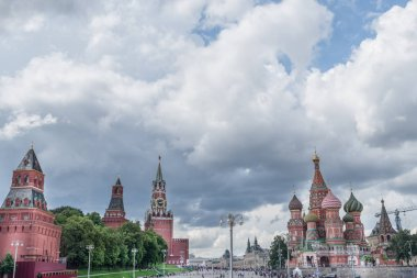 Europe. Russia. Moscow. Red square in Moscow .