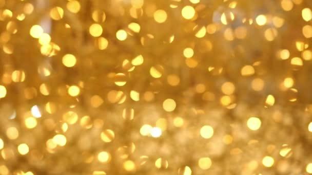 Abstraktní rozmazané zlaté pozadí. pozadí bokeh