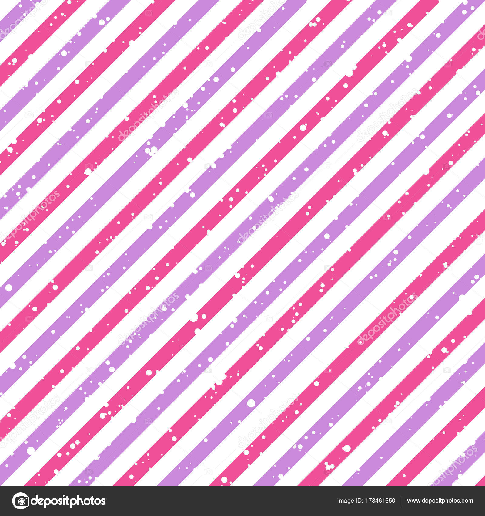 Giorno Di San Valentino A Righe Rosa E Viola Linee Diagonali Su