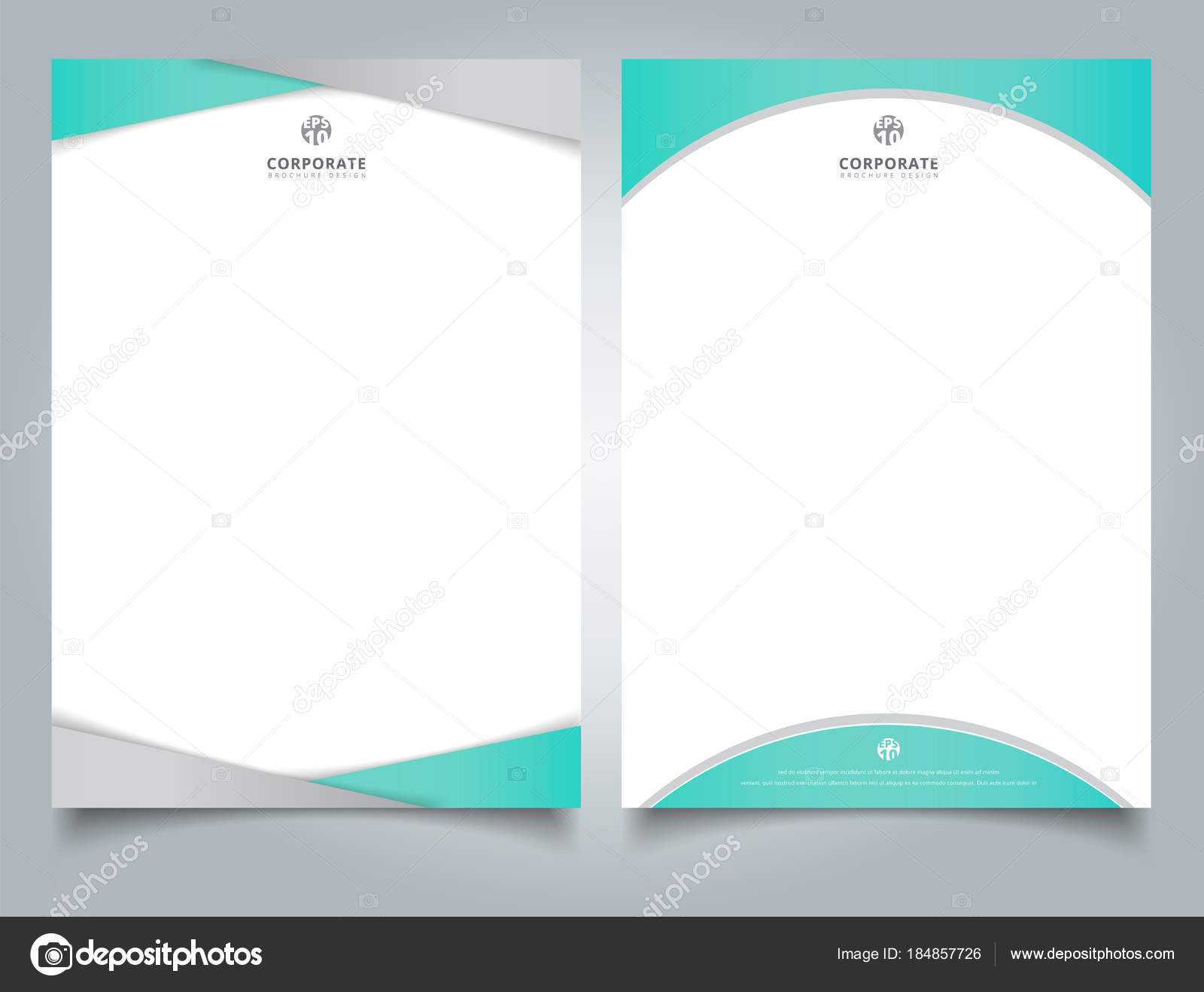 Abstract creative letterhead design template light blue color ge abstract creative letterhead design template light blue color ge stock vector spiritdancerdesigns Image collections