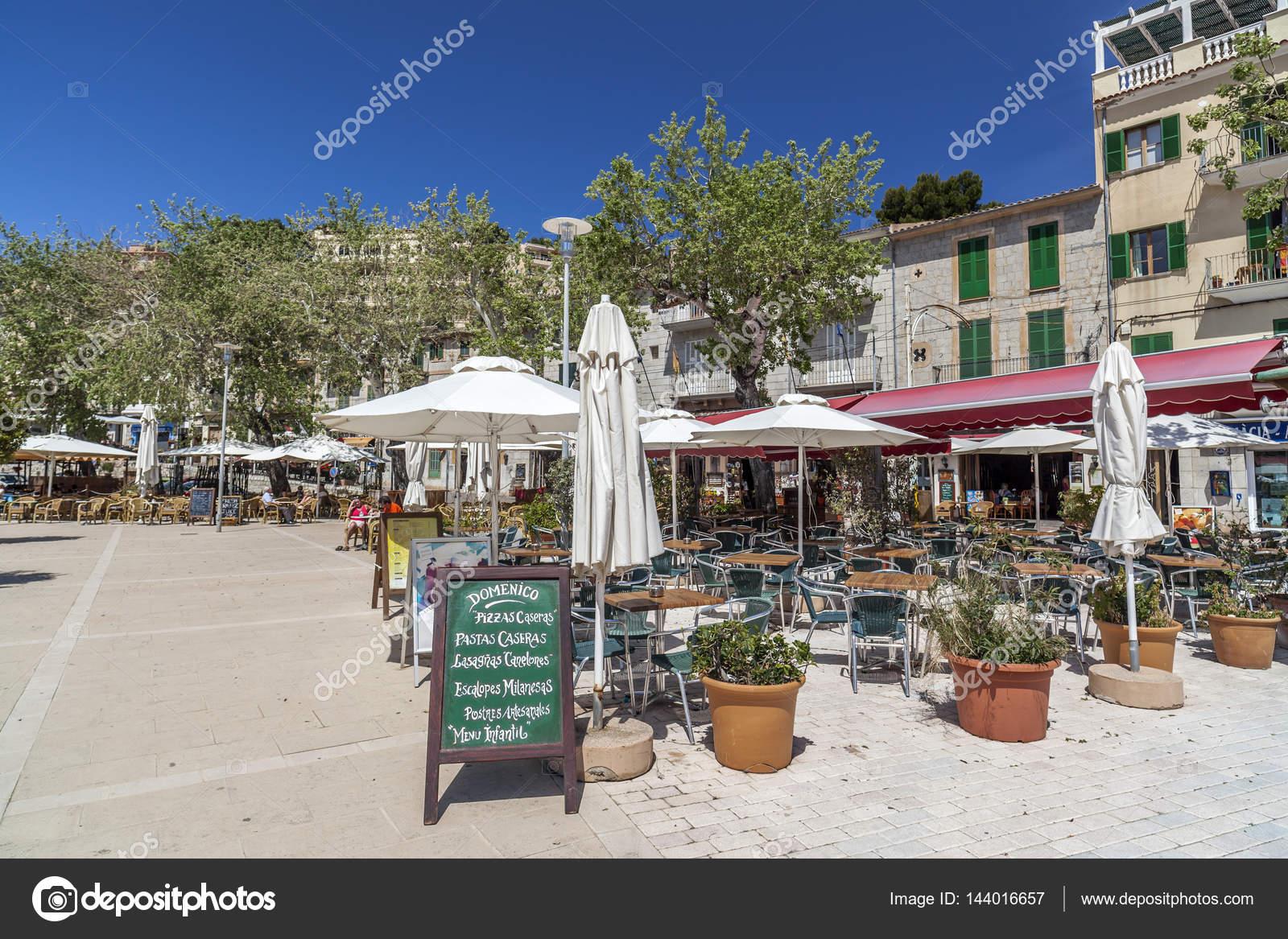 Maritime Promenade Terraces Bar Restaurant In Port In