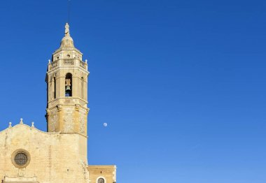 Church of Sant Bartomeu and Santa Tecla, Sitges, Catalonia,Spain