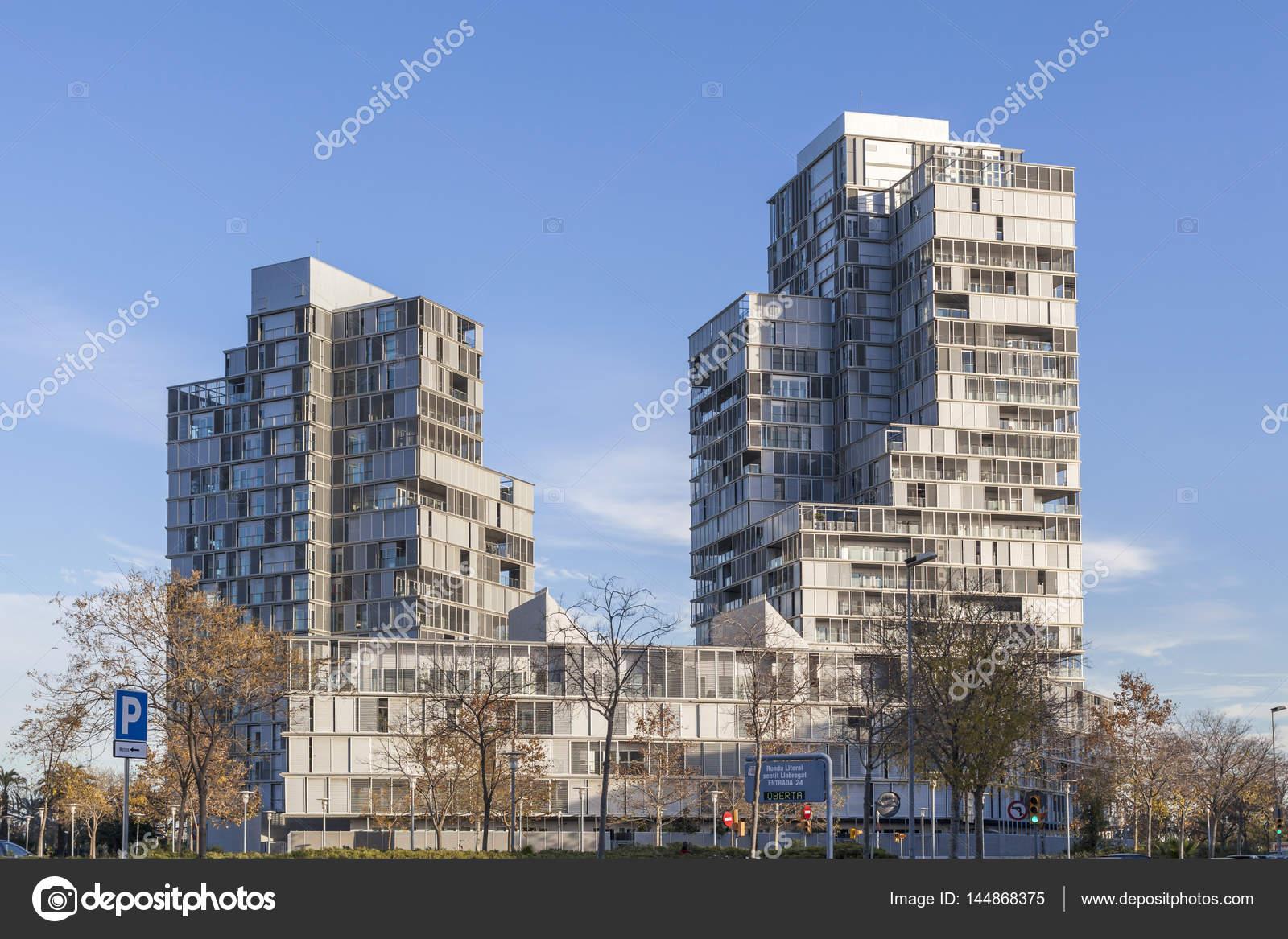 Zeitgenössische Architektur in Barcelona, Diagonal Mar Viertel ...