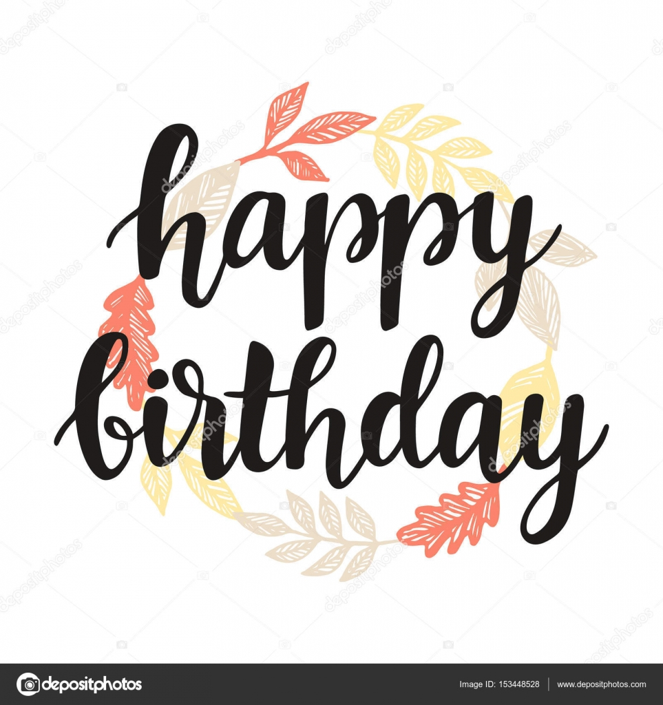 Happy birthday greeting card design template stock vector happy birthday greeting card design template stock vector m4hsunfo