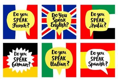 Do You Speak English Premium Vector Download For Commercial Use Format Eps Cdr Ai Svg Vector Illustration Graphic Art Design