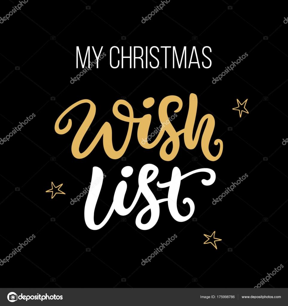 Desideri Di Natale Frasi.Mia Lista Dei Desideri Di Natale Frase Scritta A Mano Di