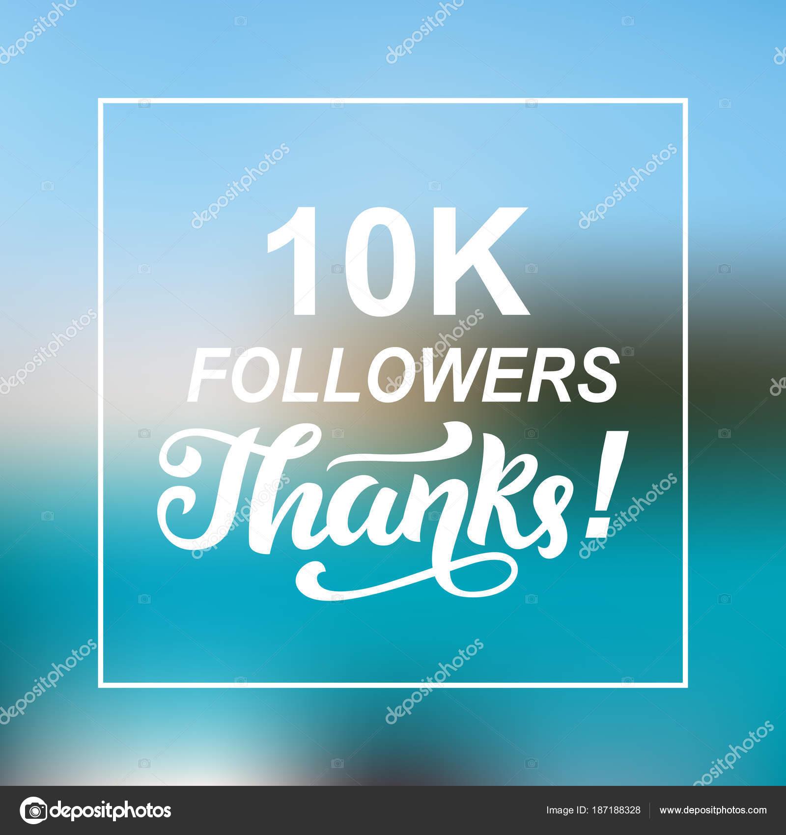 Fabulous 10000 volgelingen bedankt. Felicitaties met de sjabloon #OJ47
