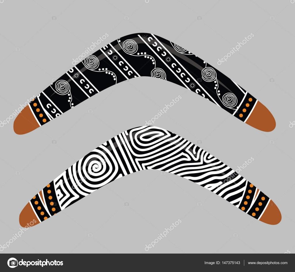 Australischen Bumerang Vektor — Stockvektor © rashmisingh #147375143
