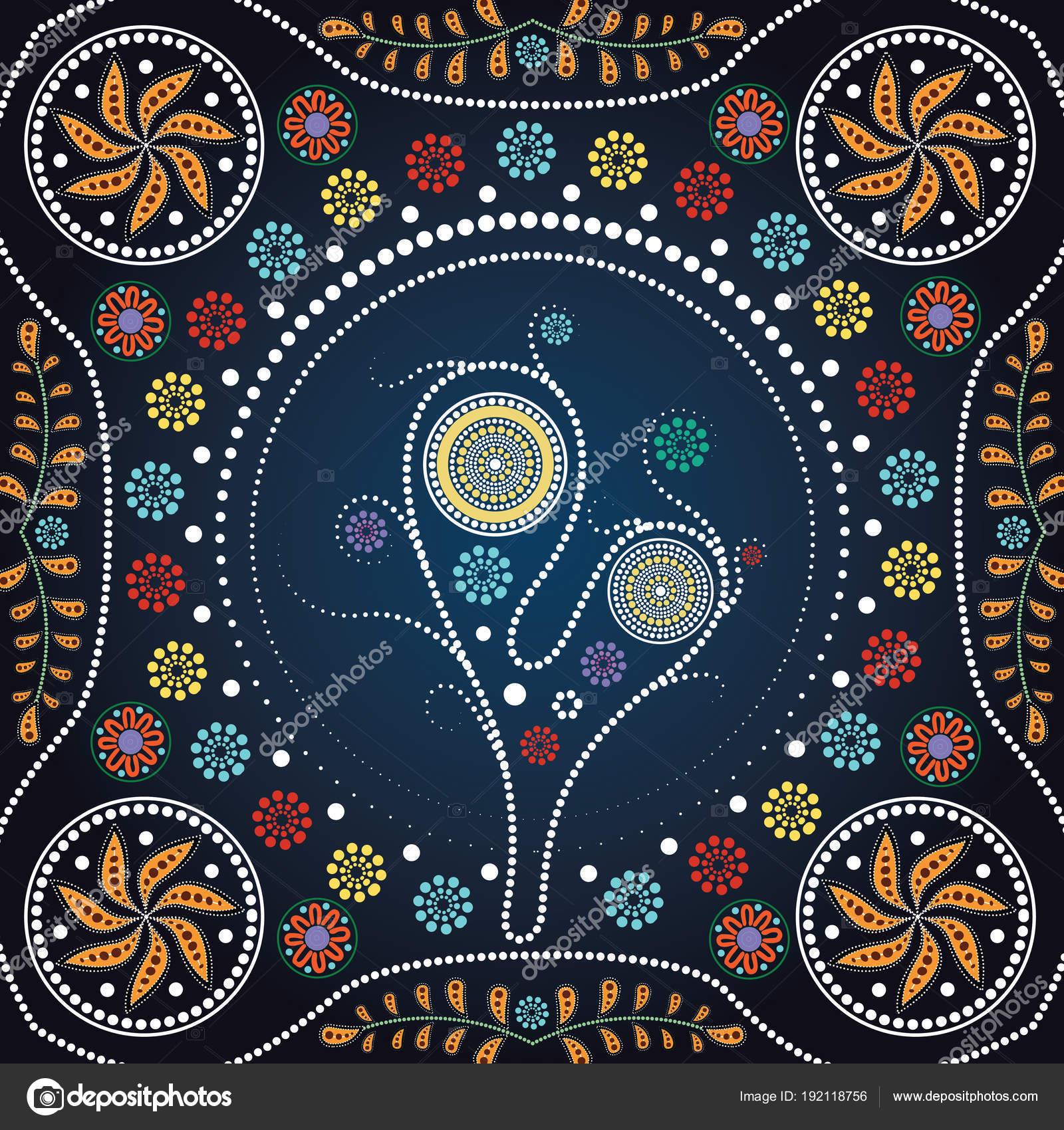 Bilder Aborigines Kunst - Ausmalbilder