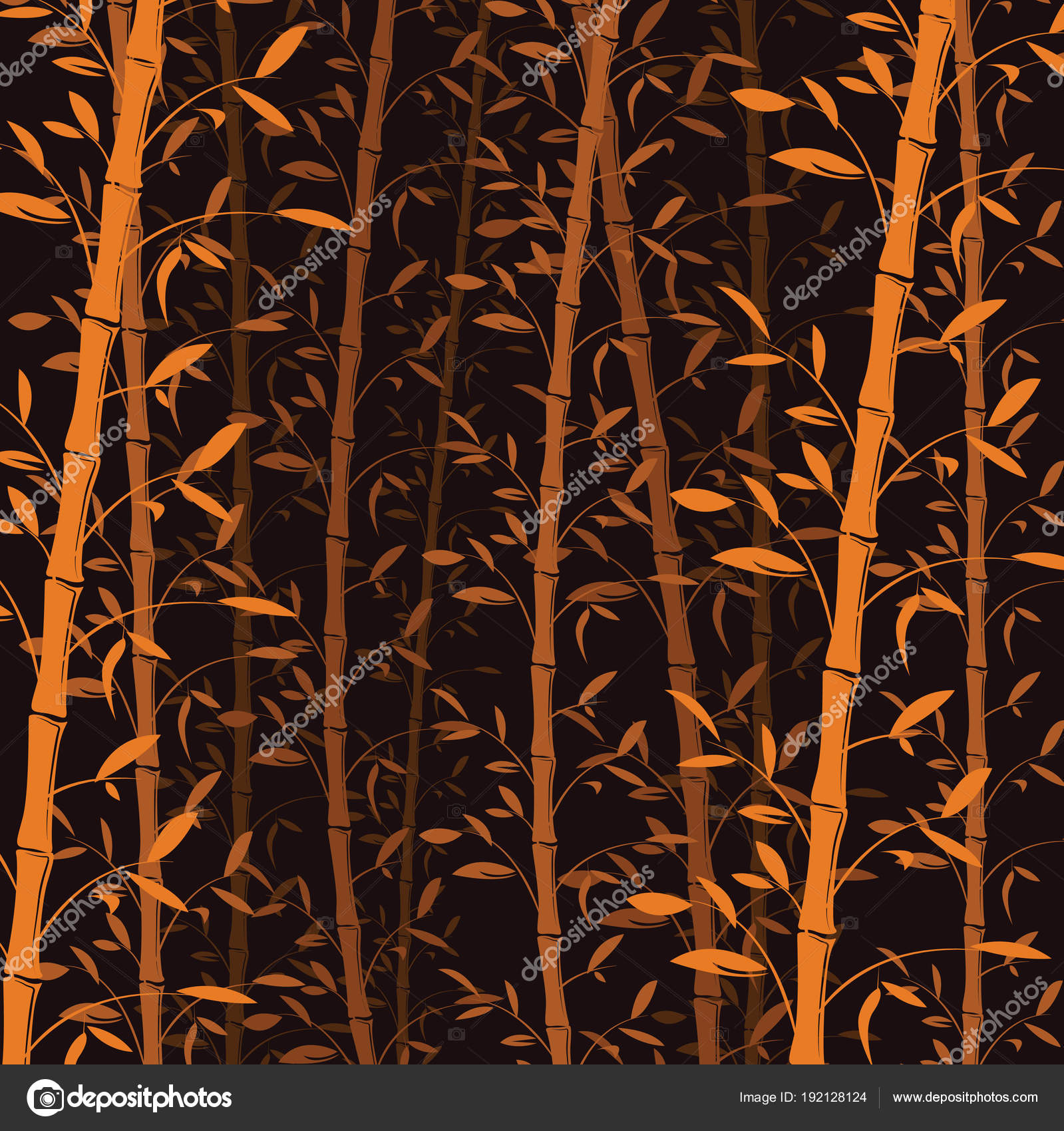 seamless bamboo pattern background bamboo forest wallpaper vector