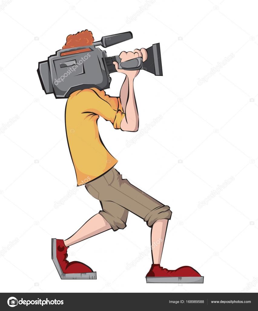 ビデオカメラで撮影技師 — スト...