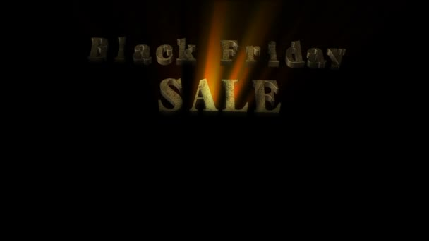 Black Friday Sale 3D Animation