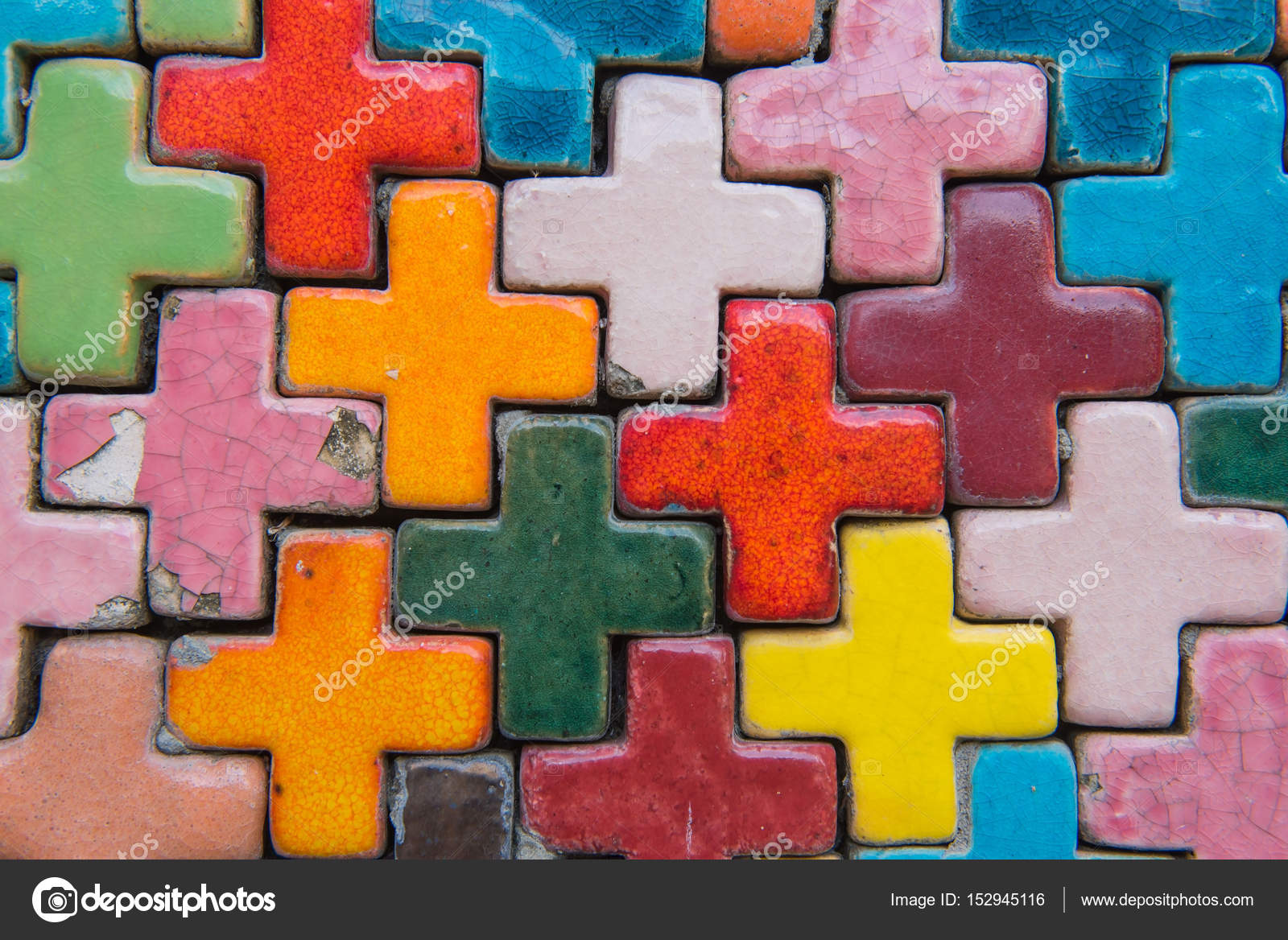 Colorful Brick Wall For Wallpaper Surface Texture Background Photo By Oatauttagmail