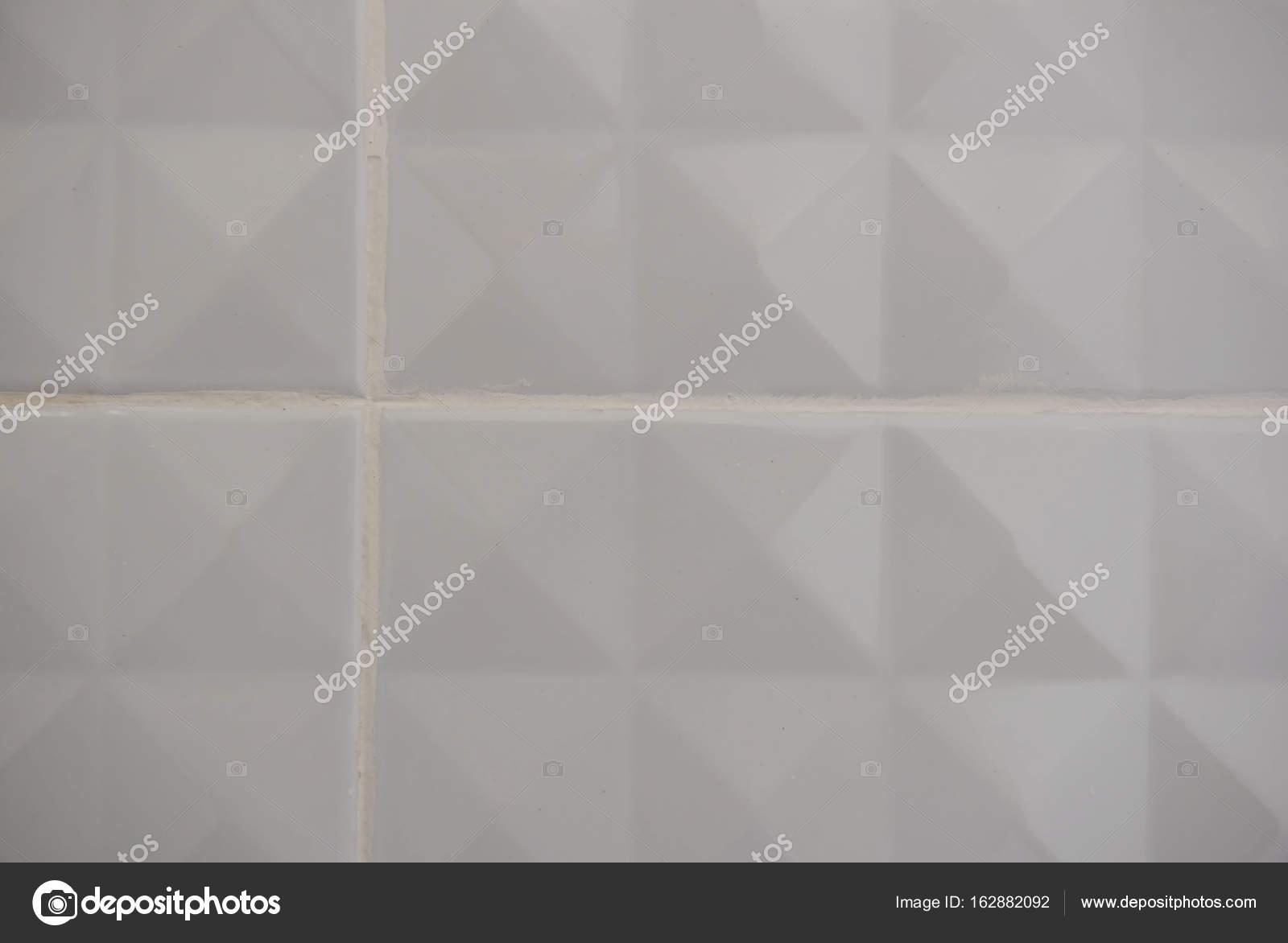 Moderno bianco piastrelle trame per lo sfondo u foto stock