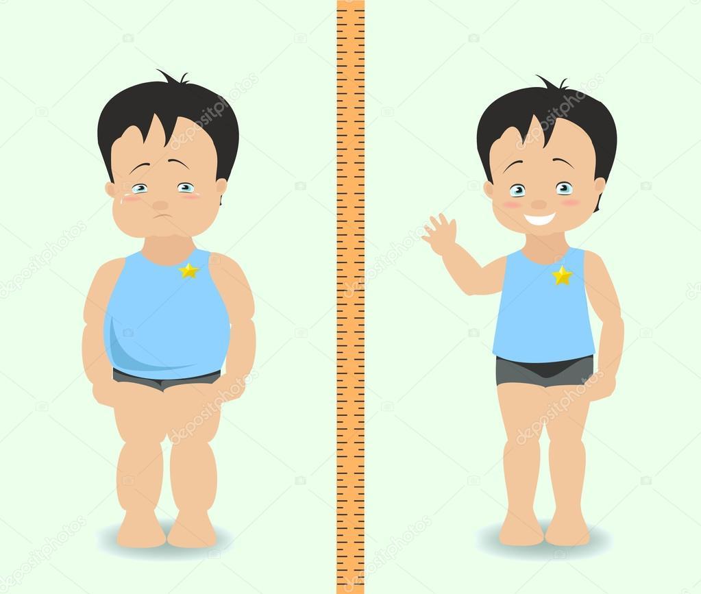 Perdida de peso ninos