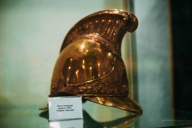 Helmet fire in 1972, Paris, France,