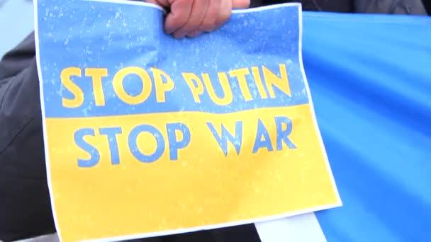 Akce # Stopputinswarinukraine Kyjev