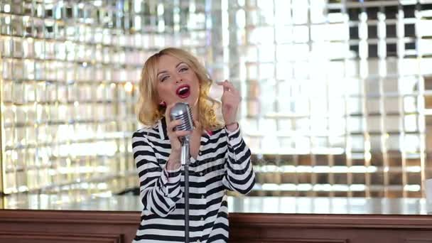 Image result for woman singing at a restaurant images