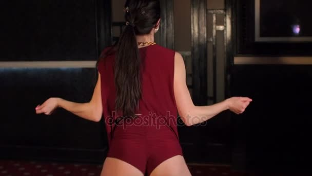 Detail kořist sexy holky tanec twerk