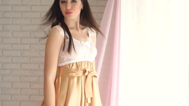Krásná sexy dívka v Erotické prádlo. Spodní prádlo.