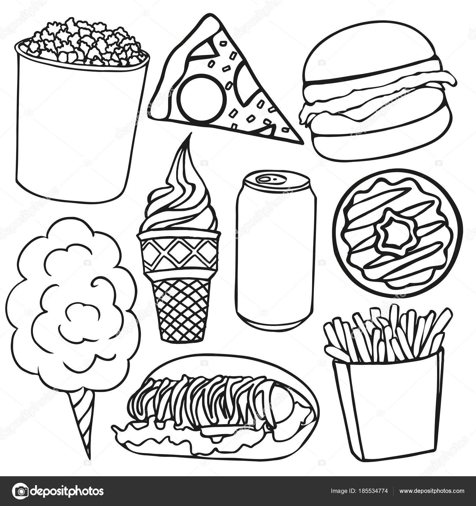 Imágenes Higiene En La Cocina Para Colorear Mano De