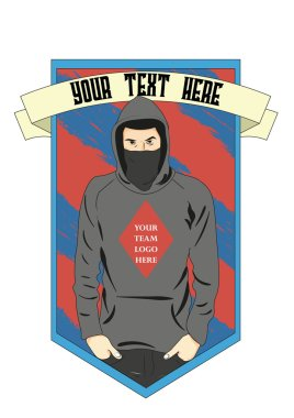 Ultras Football Fan Logo