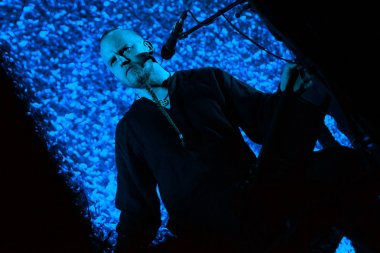 Norwegian folk nordic ethnic band Wardruna performing live at Yotaspace club on February 04, 2017 in Moscow, Russia