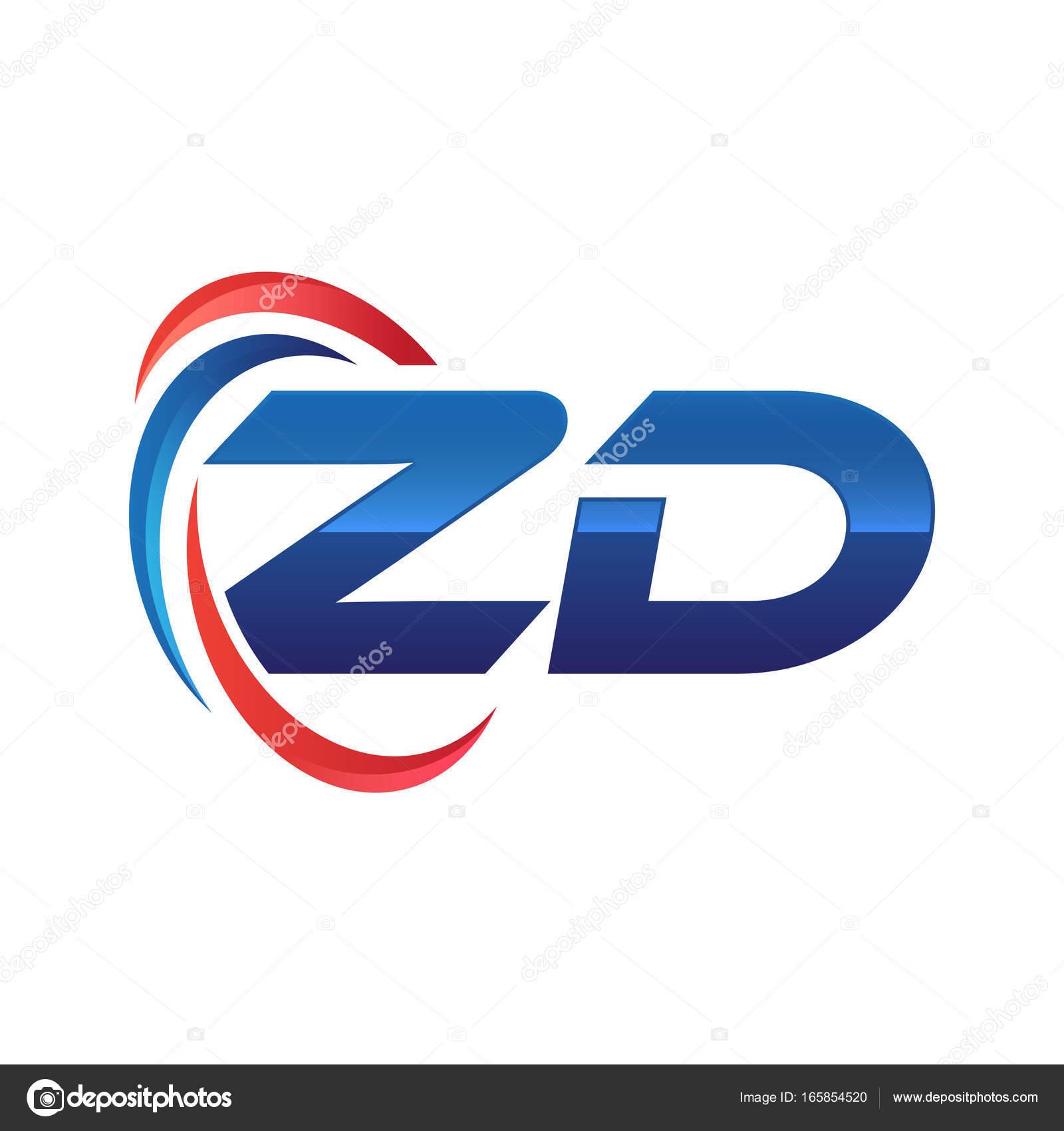 initial letter logo swoosh red blue stock vector khuluk 165854520 rh depositphotos com swoosh logos answers swoosh logos answers
